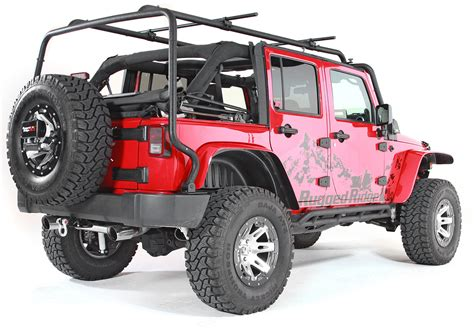rugged ridge 11703 02 sherpa rack for 07 17 jeep 174 wrangler