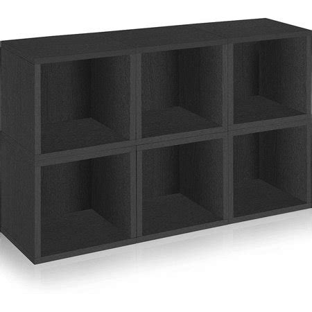 Baby Cube 8 Pack 140ml by Way Basics Eco Stackable Modular Storage Cubes Black 6