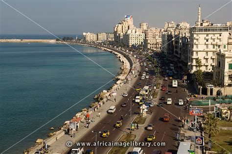 Alexandria City Property Records Photos And Pictures Of The Corniche At The Mediterranean Coast Alexandria