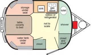 scamp floor plans 13 light weight travel trailers with deluxe interiors