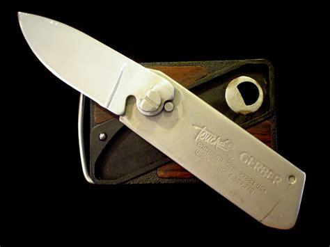 vintage 1980 s production gerber touche belt buckle
