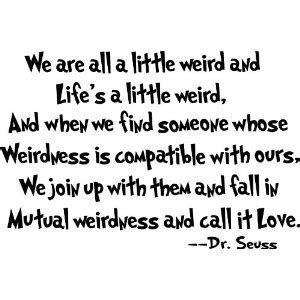 Wedding Quotes Dr Seuss by Quote Of The Day Dr Seuss Petpanda