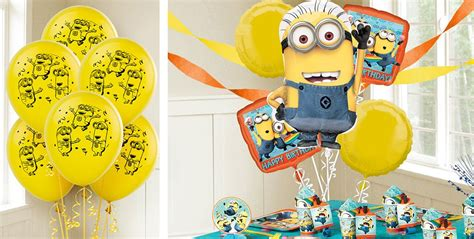 City Minion Decorations by Despicable Me Balloons City