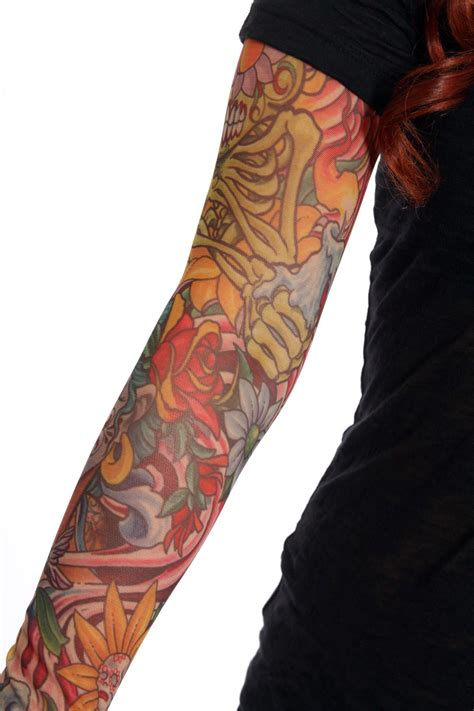 tattoo sleeves fake pin pin tattoos on on