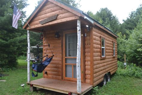 tiny house rentals wisconsin cozy romantic tiny house on wheels near the dells