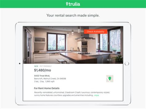 apps for houses for rent trulia rentals homes apartments for rent on the app store
