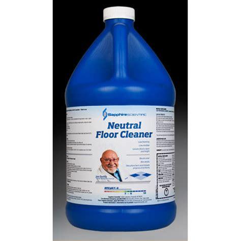 sapphire scientific neutral floor cleaner 1 gallon 76