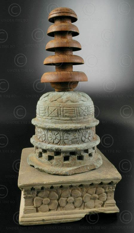gandhara stupa reliquary gh swat valley pakistan