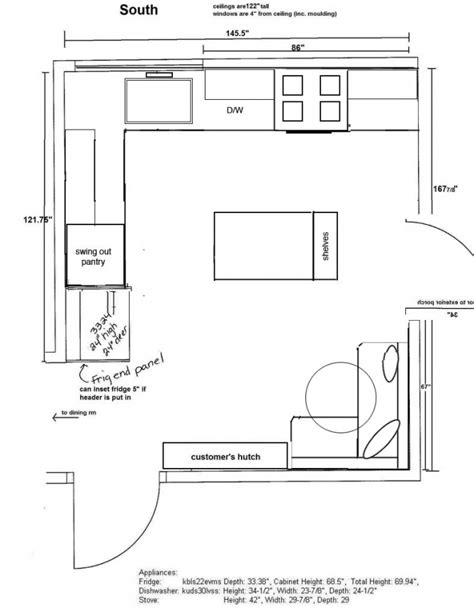 l shaped kitchen floor plan l shaped kitchen floor plans