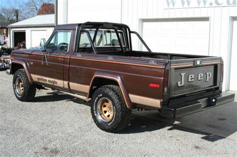 jeep j10 golden eagle 1978 jeep j10 golden eagle