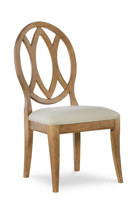 oval back dining chair by rachael hom furniture