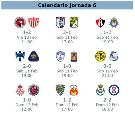 tabla de resultados jornada 12 clausura 2012 tabla general del clausura 2017 en la jornada 6 del futbol