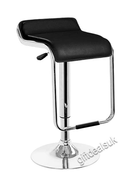 chrome swivel bar stools with back bar breakfast or kitchen chrome swivel bar stool gas lift