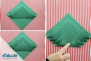 weihnachtsbaum servietten falten 28 images