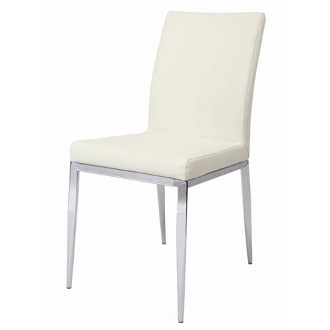 Pastel Dining Chairs Pastel Furniture Sundance Dining Chair Upholstered In Pu Ivory Qlsu11079978