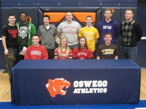 Letter Of Intent Yorkville seventeen ohs students sign letters of intent oswego il patch