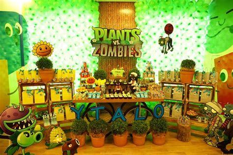Plants Vs Zombies Decorations by Plants Vs Zombies Decor Sc Eventos Festa
