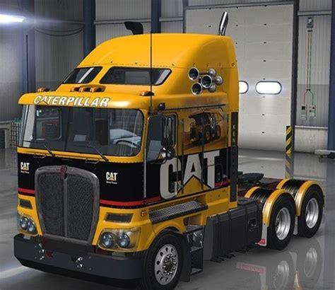 trailer kenworth 2016 kenworth k200 v1 truck american truck simulator mod