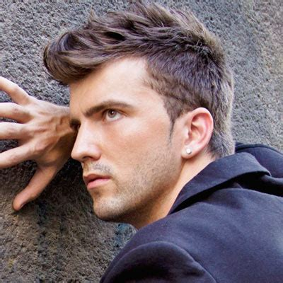 spiky swooped hair latest hairstyle mens cool hairstyles 2013