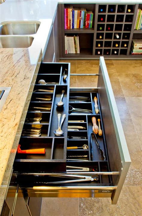 Drawer Solutions by 27 Ingenious Diy Cutlery Storage Solution Projects That