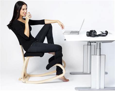 si鑒e assis タ genoux si 232 ge de bureau varier variable avec dossier espace du dos