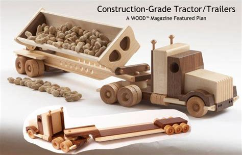 plans  wood toy trucks  plans toy wood