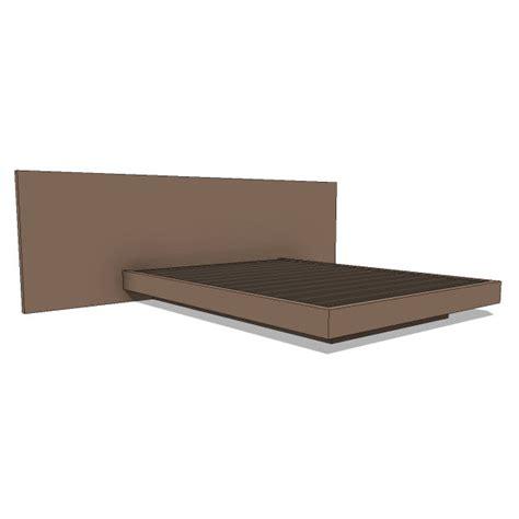 Pch Series Canopy Bed - pch series canopy bed 10394 2 00 revit families modern revit furniture models