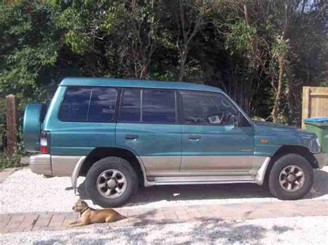 mitsubishi shogun 1998 mitsubishi 1998 shogun gls v6 lwb auto green car for sale