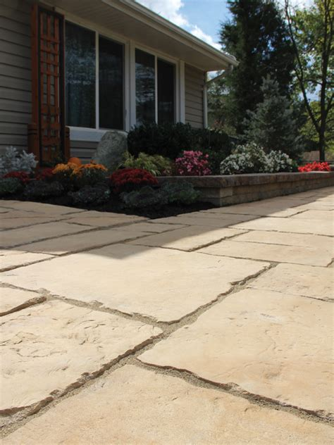Town Patio by Paving Slabs State Material Supply