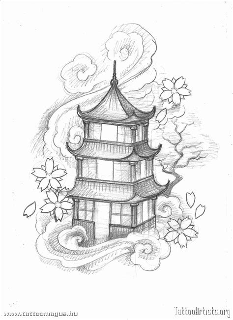 tattoo japanese house 55 best images about tattoo on pinterest hourglass