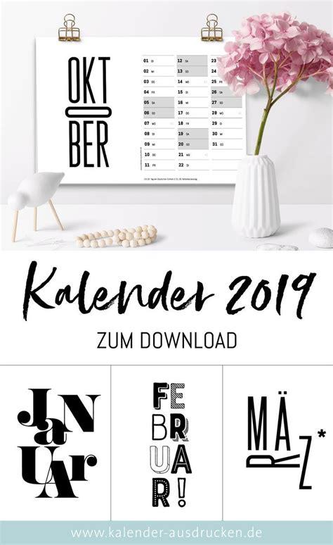 schwarz weiss kalender  kalender