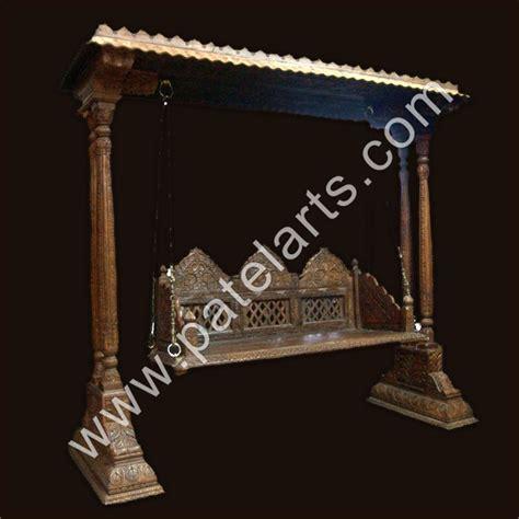 traditional jhoola indian swing handicraft indian wooden swing designs indian style wooden swing