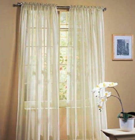 elegant sheer curtains luxurydiscounts 2 piece solid beige elegant sheer curtains