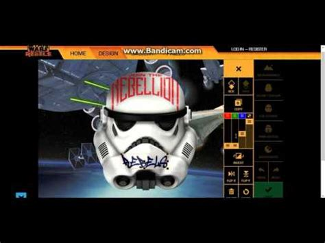 stormtrooper helmet design game design your own stormtrooper helmet youtube