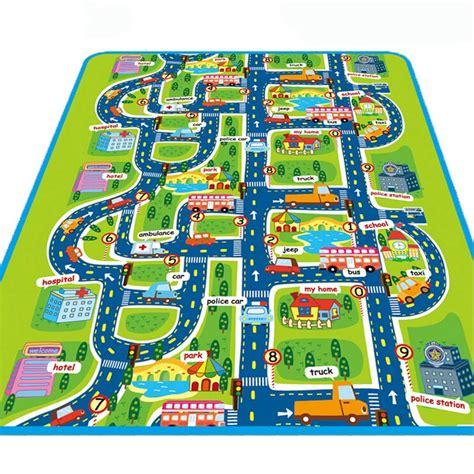 alfombra ciudad maboshi ciudad carretera alfombra alfombras para ni 241 os