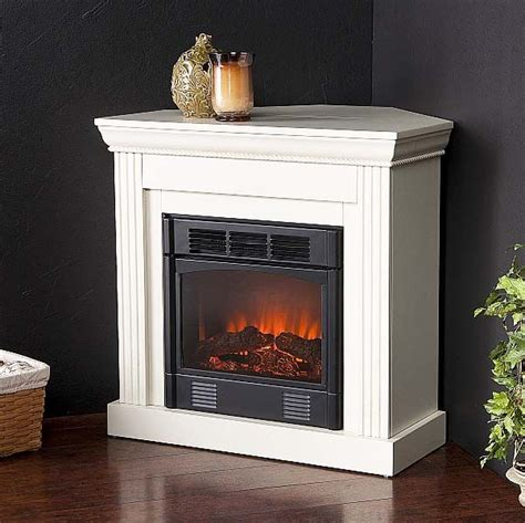 small corner electric fireplaces corner electric