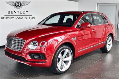 bentley bentayga red bentley long island vehicle inventory