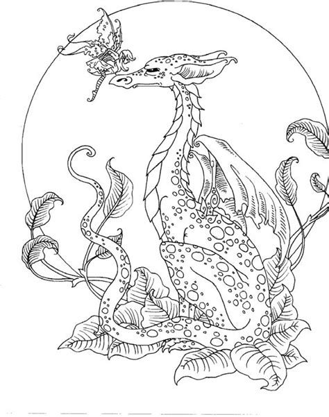 coloring pages for adults mythical artist amy brown fairy myth mythical mystical legend elf