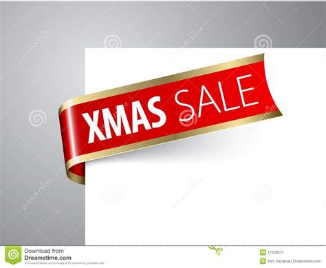 christmas sale announcement stock image image 17528071