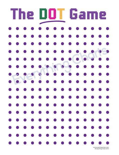 dot to dot box game printable dot game everything charts and games