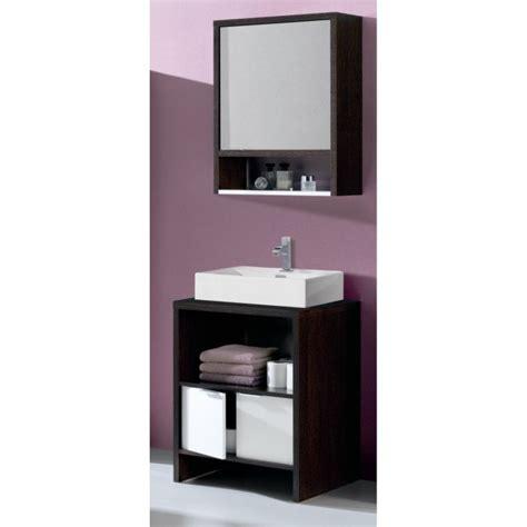 meuble haut salle de bain avec miroir