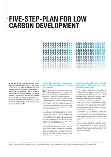 Ings Co2 Solution a five step plan for a low carbon development