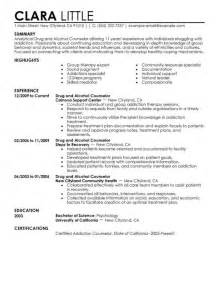 School Counselor Resume Exles by Sle School Counselor Resume Jennywashere