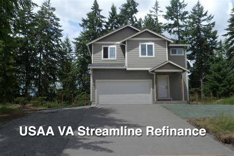 usaa va streamline refinance va irrrl from usaa information
