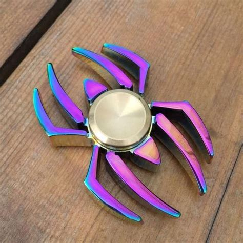 Fidget Spinner Rainbow Spider 96 best images about fidget spinners on edc golden snitch and bike chain