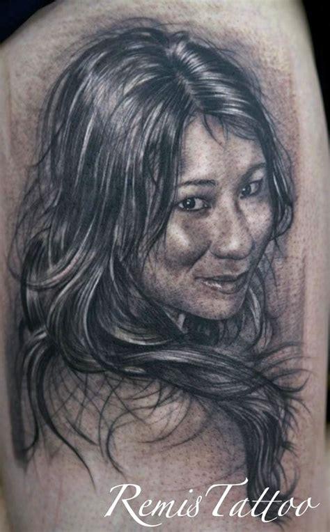 tattoo black and grey portrait black and grey portrait tattoo by remistattoo on deviantart
