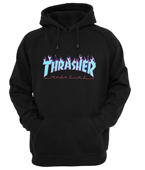 Thrasher Hitam thrasher magazine hoodie