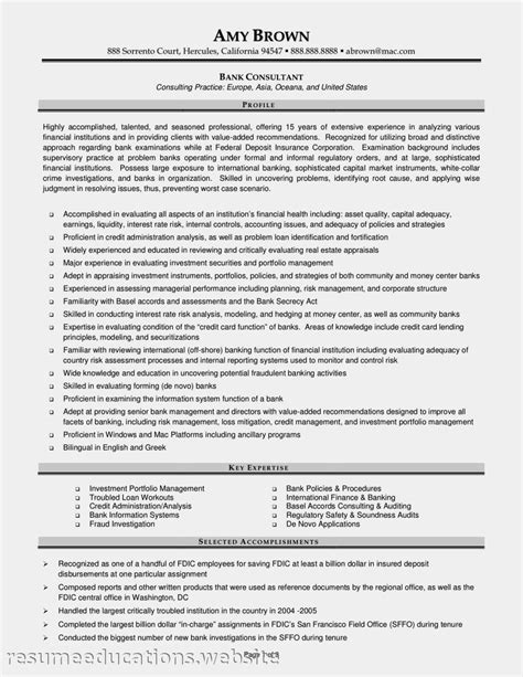 Financial Project Manager Sle Resume by Resume Financial Management Specialist Sle Resume Resume Daily