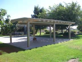 free standing patio cover plans freestanding patio covers