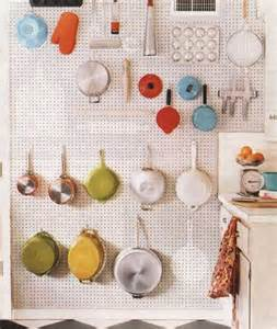 Kitchen Pegboard Ideas by Alchemyjunk Pegboard Pot Rack